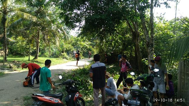 Sadar Akan Lingkungan, Karang Taruna Desa Pelayang Gelar Goro Bersama