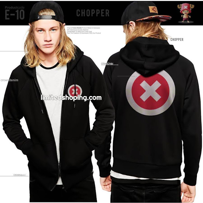 limited shoping jaket anime one piece
