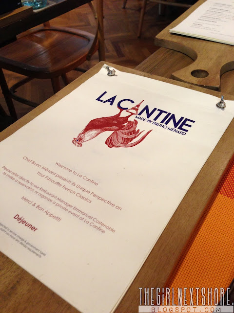 La Cantine: a French brasserie in Singapore
