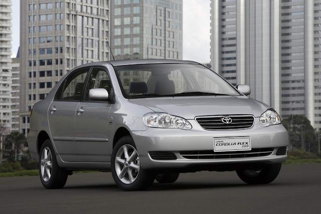 Toyota Corolla 2006 Flex - recall