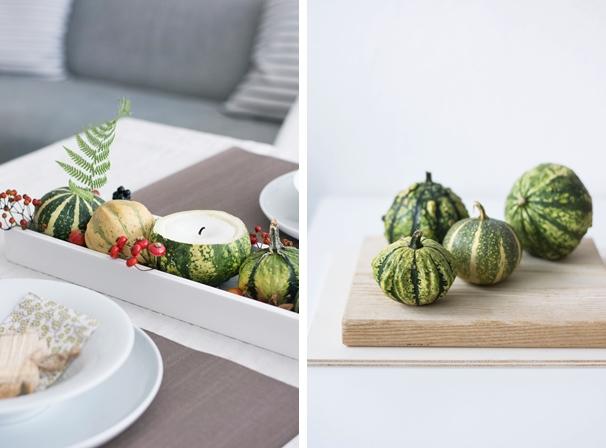 DIY Kürbis Kerzen