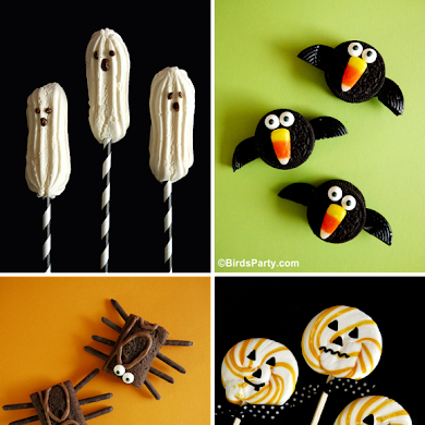 4 NO-BAKE Halloween Sweet Treat Recipes