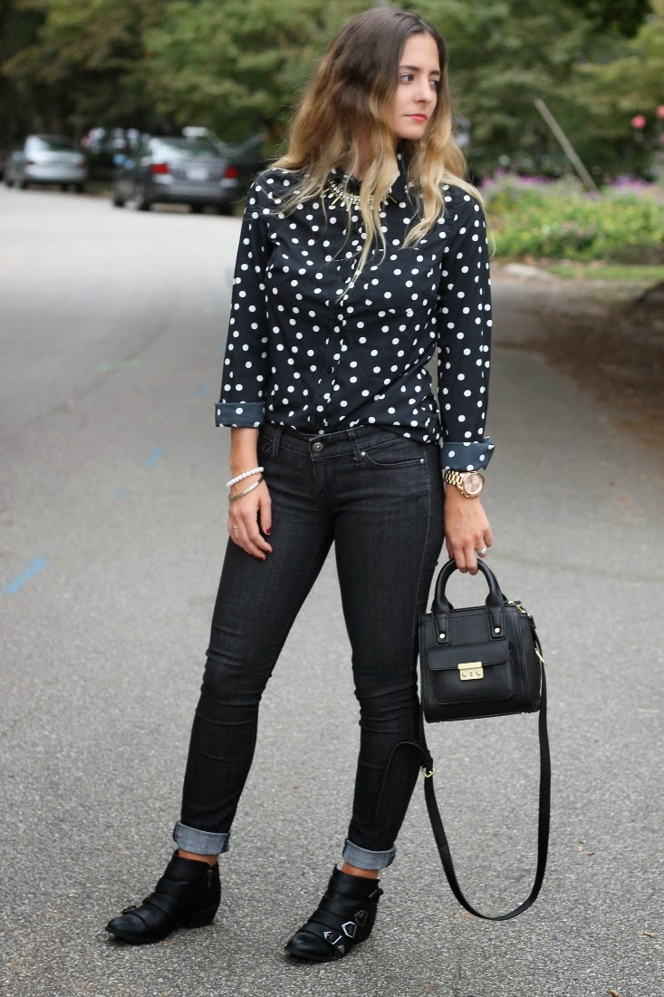 Bedazzles After Dark Outfit Post Back In Black For Fall