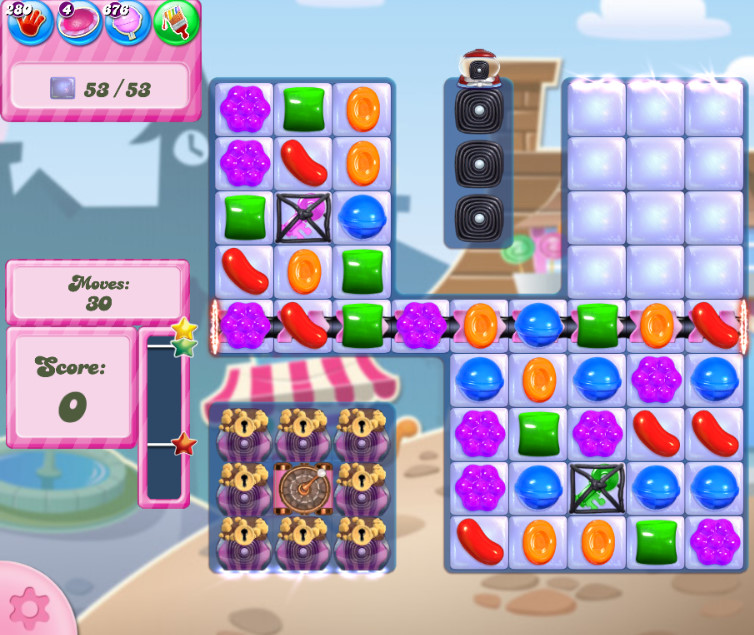 Candy Crush Saga level 2732