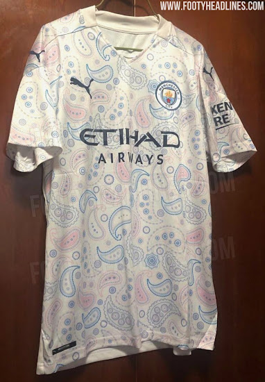 Manchester City 20-21 Third Kit Leaked - Footy Headlines