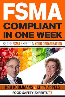 FSMA Compliant in One Week: Be the FSMA Expert in Your Organization free kindle book promotion Rob Kooijmans