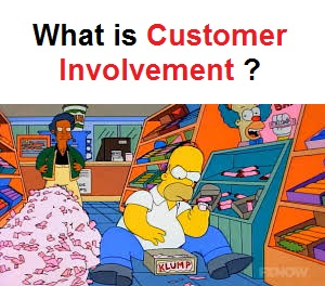 What is customer Involvement ?