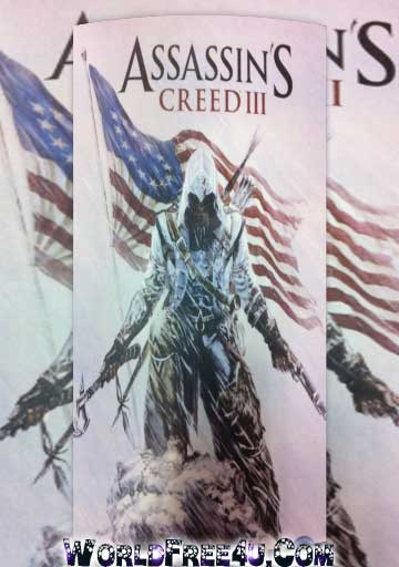 Cover Of Assassin's Creed 3 Full Latest Version PC Game Free Download Mediafire Links At worldfree4u.com