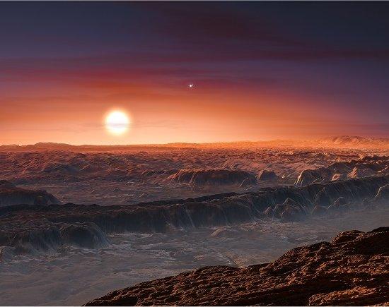 """Exoplaneta """"habitável"""" encontrado na estrela mais próxima"""