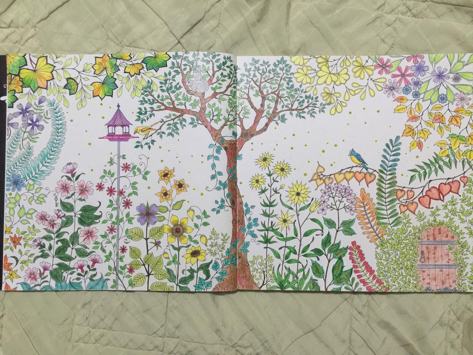 Loves Jing Blo Com Secret Garden Coloring Book
