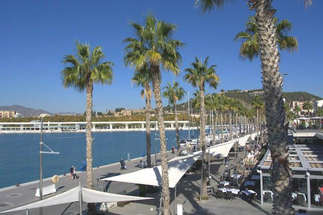 opinie Malaga (Hiszpania) port, spacer, deptak