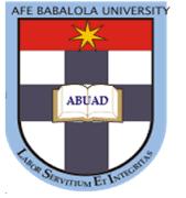 ABUAD 2017/2018 Admission Screening Exercise Extended