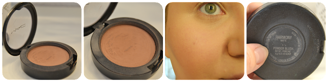 Mac Harmony Powder Blush Rouge Swatch Bronzer Konturieren