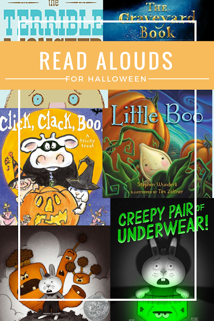 Read Alouds for Halloween #readalouds #reading #halloween #teaching