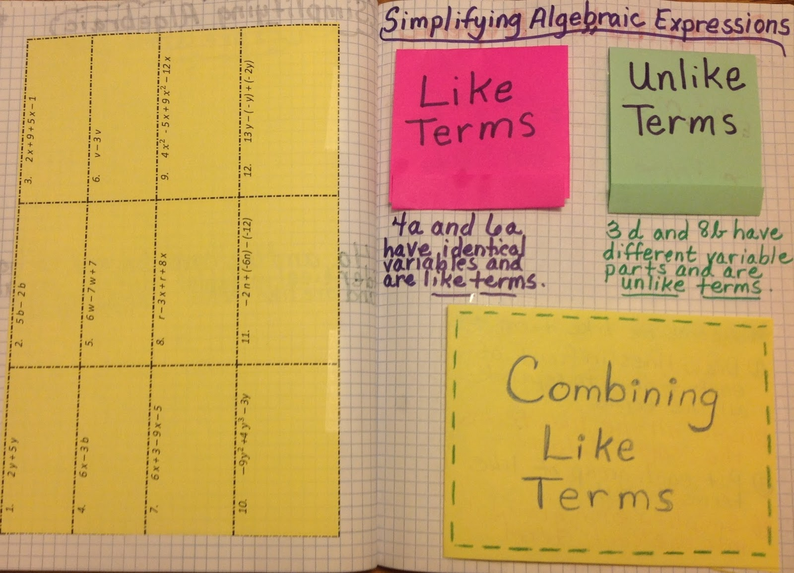 Equation Freak: Combining Like Terms and Distributive Property ...