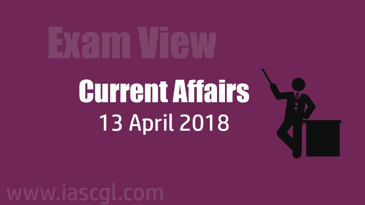 Current Affair 13 April 2018