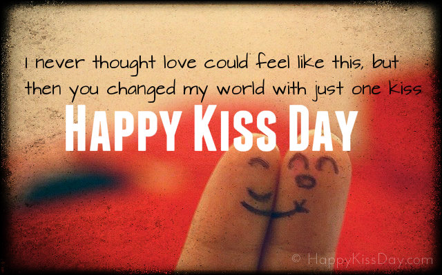 Happy Kiss Day Messages 2017