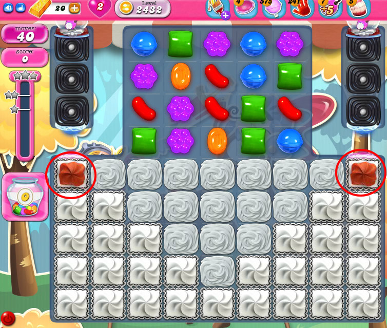 Candy Crush Saga level 2432