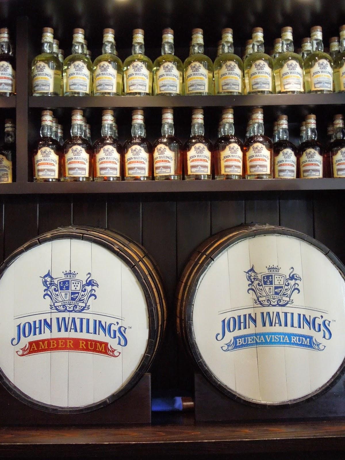John Watling's rum