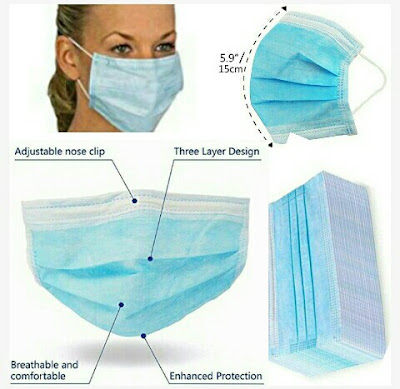 Health Face Masks - Hancylily Hygiene Nose-Mouth Covers