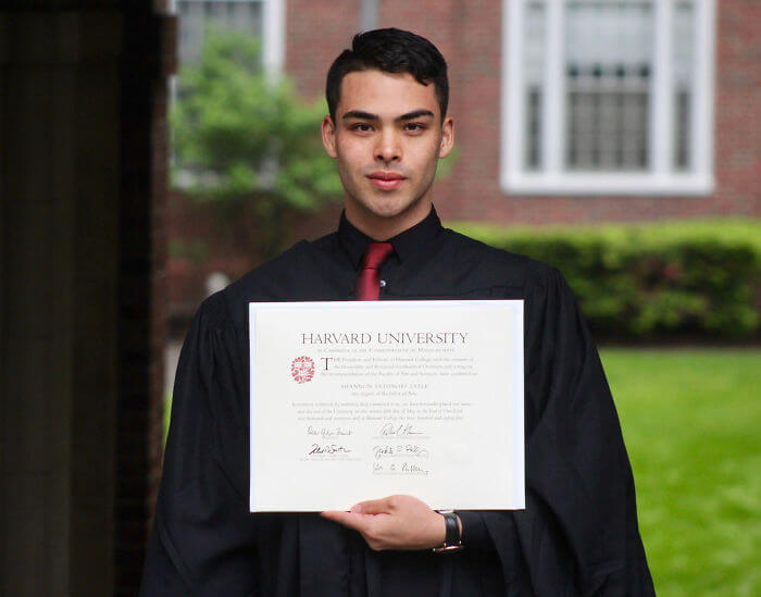 The Touching Story Of A Man From His Difficult Years In High-school To His Graduation From Harvard