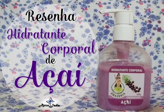 Hidratante corporal Nyata Cosméticos