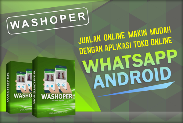 Washoper; Toko Online di Whatsapp Android