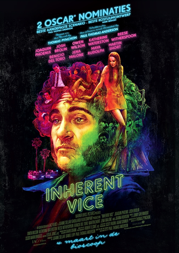 Puro vicio (Inherent Vice, Paul Thomas Anderson, 2014)