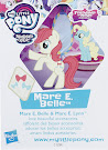 My Little Pony Wave 20 Mare E Belle Blind Bag Card