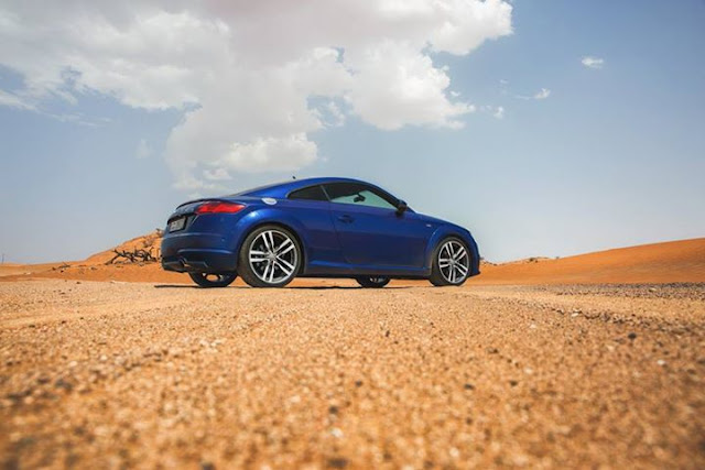 Audi TT is the embodiment of absolute elegance