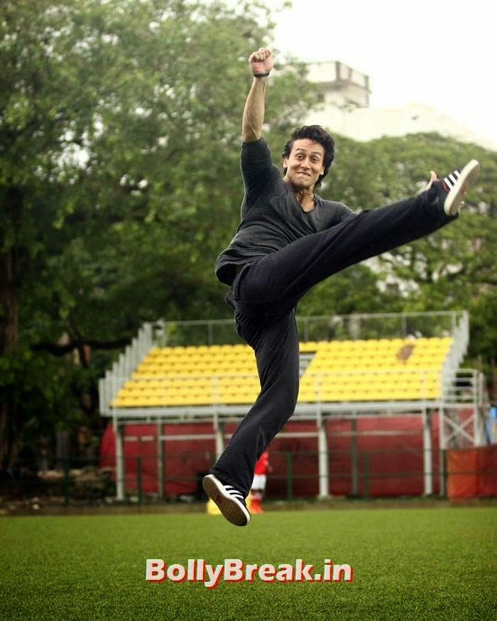 Tiger Shroff, Bollywood Celebs play football match for Aamir khan's daughter Ira Khan