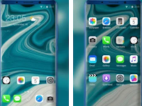 Download Tema iPhone XS For Oppo F9