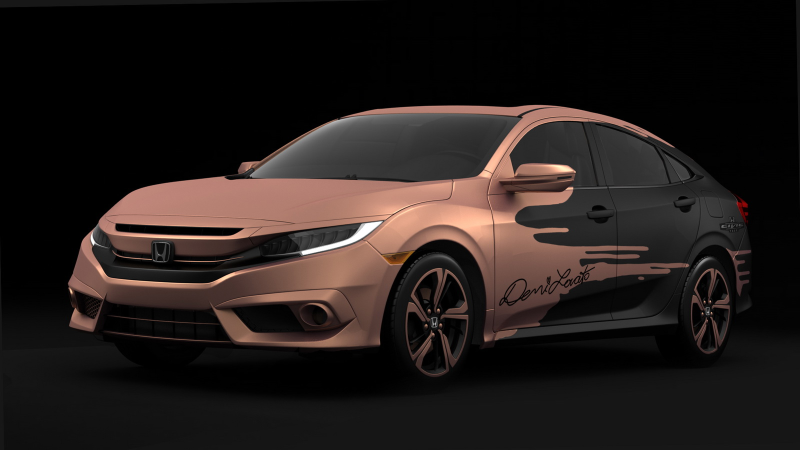 Honda to give away celebrity tuned 2016 civic carscoops for Honda civic tour