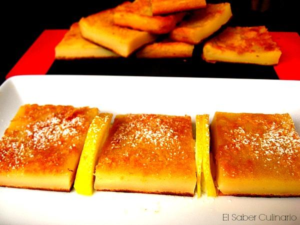 Receta fácil de quesada con leche evaporada y queso fresco batido
