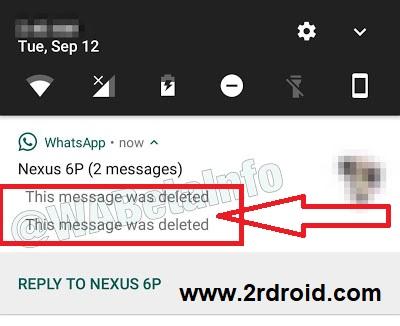 ميزة حذف الرسائل , كيفية حذف الرسائل فى واتس اب , حذف الرسائل بعد إرسالها فى واتس اب , كيفية حذف الرسائل بعد إرسالها , واتس آب تختبر ميزة حذف الرسائل