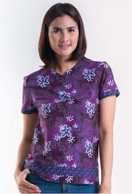 Model Baju Batik Solo Casual