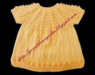 sarı topcuklu kız bebek yelegi