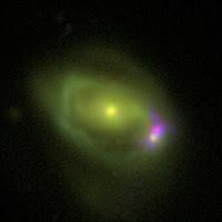Was 49 Galaxy Merger