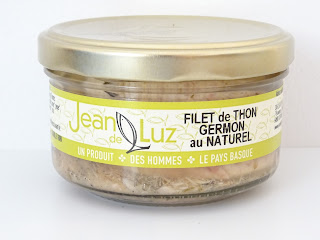 filet de thon germon au naturel - Conserverie Jean de Luz