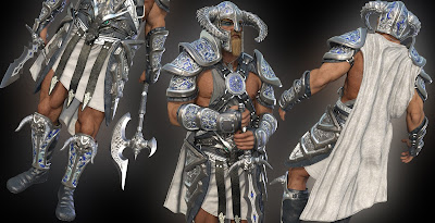 Dragonsbane Barbarian Clothing Textures