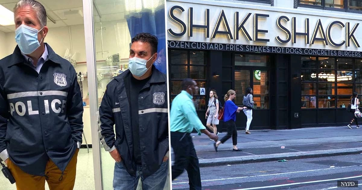 NYPD Officers Poisoned After Drinking Shake Shack Beverages Containing 'Toxic Substance'