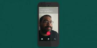 WhatsApp - ميزة مكالمات الفيديو في تطبيق للأندوريد