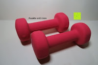 ausgepackt: Neopren-Hanteln »Peso« Kurzhanteln in verschiedenen Gewichts- und Farbvarianten ( 0,5kg, 0,75kg, 1kg, 1,5kg, 2kg, 3kg & 4kg )