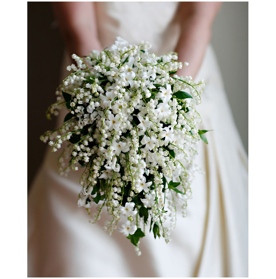 Lily Of The Valley Bouquet: Four Leaf Events: May's Flower: Lilies Of The Valley And