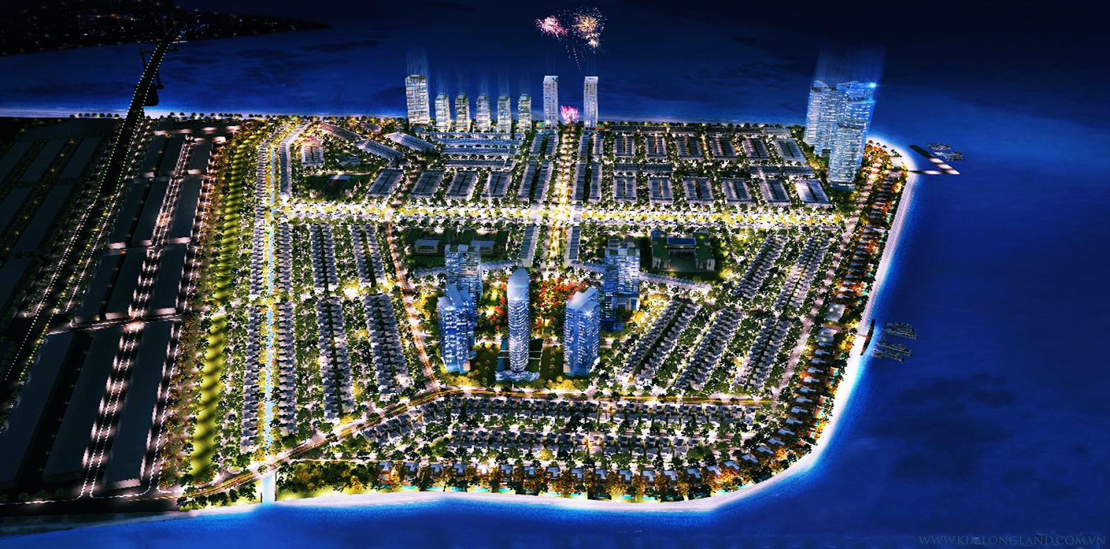 Phối cảnh khu đô thị mới Thuận Phước