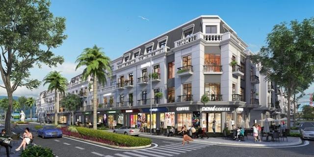Phối cảnh dự án Shophouse Vincity Gia Lâm