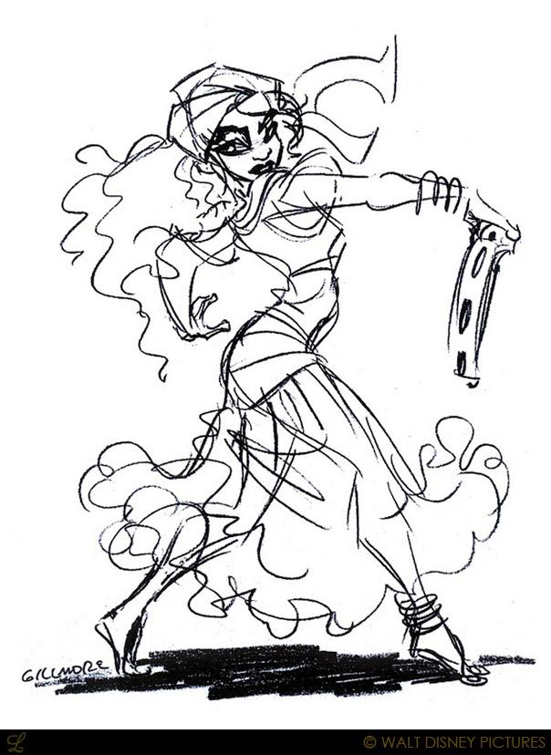 Esmeralda Disney Concept Art