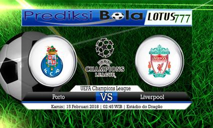 PREDIKSI  SKOR  Porto vs Liverpool  15 Februari 2018
