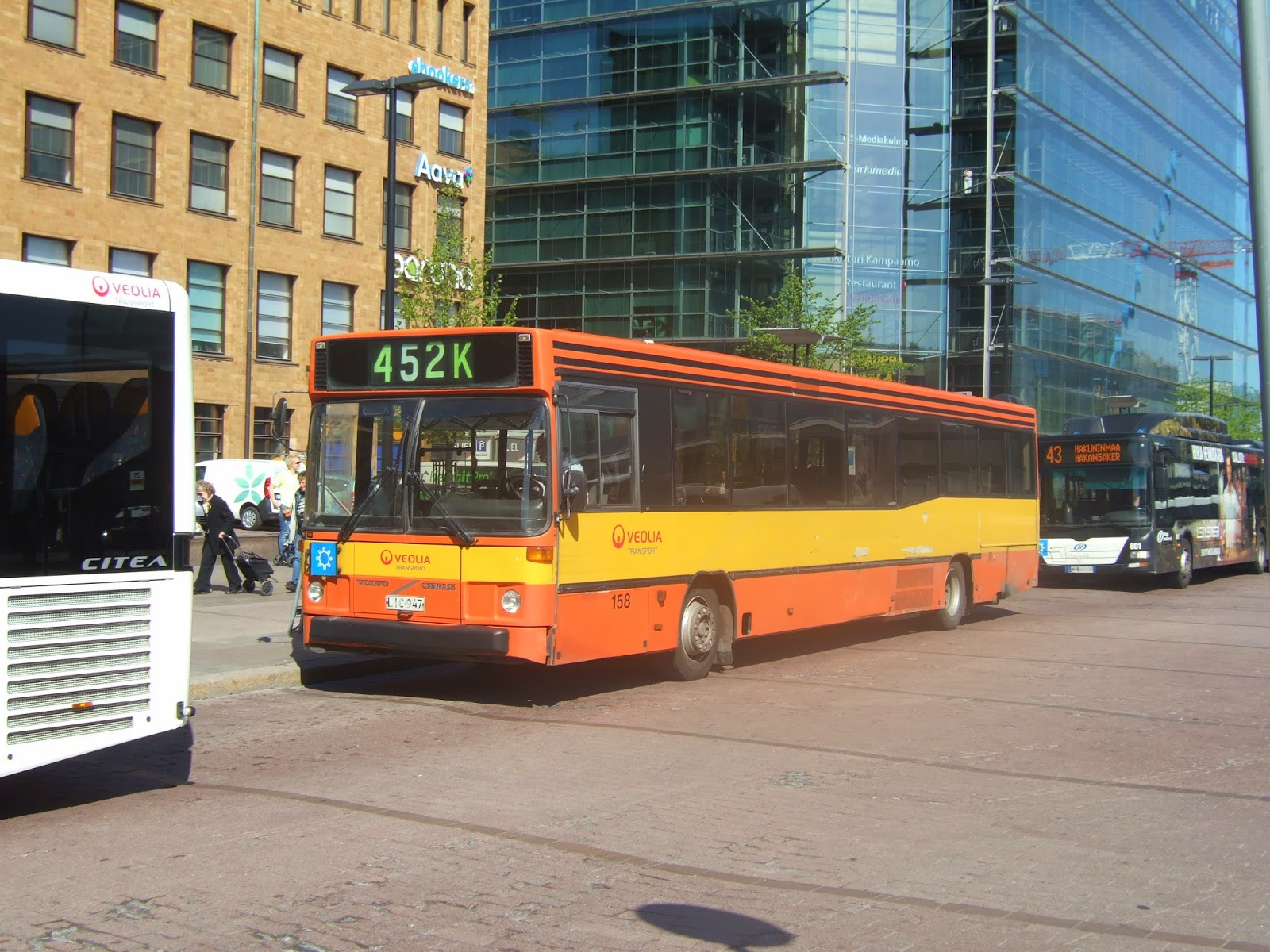 Steve's Bus & Train Page: Helsinki Special (And A Bit Of Barcelona)