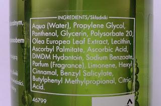 Ziaja liście zielonej oliwki- oliwkowy tonik z witaminą C